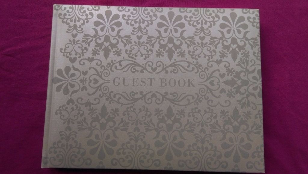 Wedding guest book new