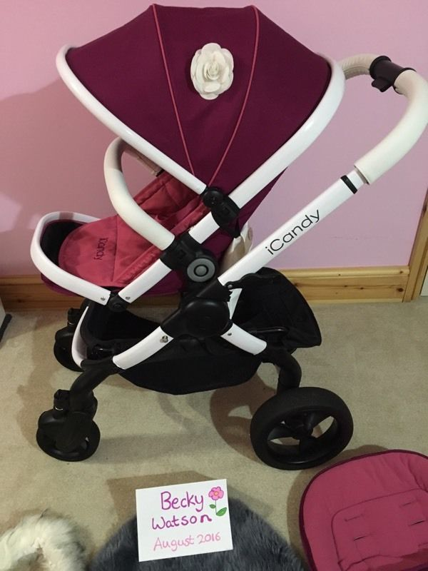iCandy Peach 3 Fuchsia loads of extras!