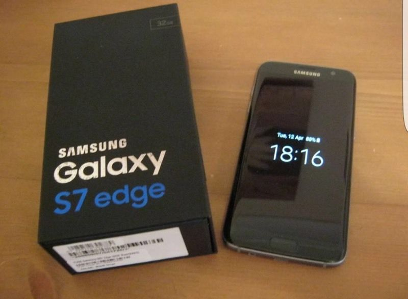 Samsung galaxy s7 edge boxed as new unlocked to all networks