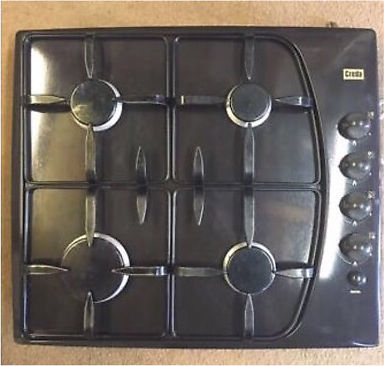 Creda gas hob, Creda fan oven & intergrated extractor fan