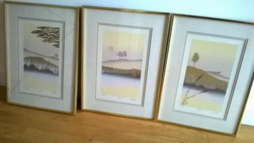3 Signed and Framed Prints by Jan King