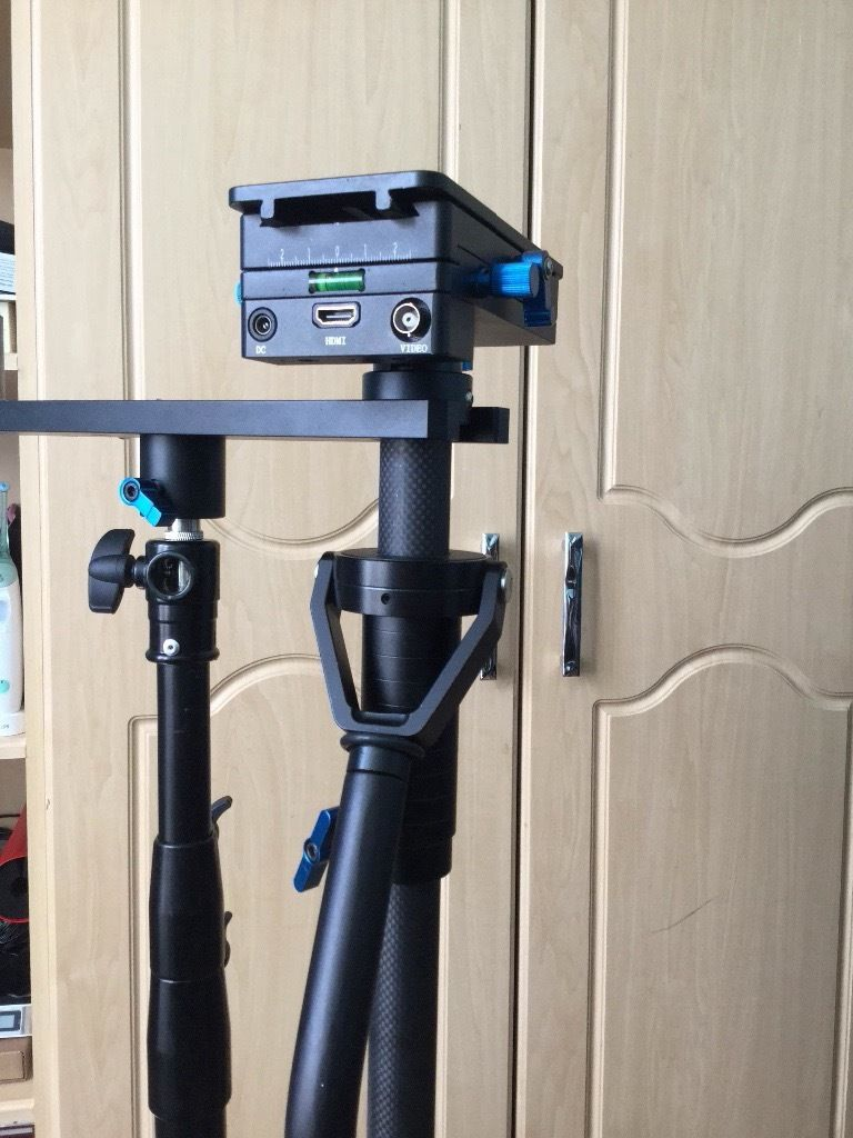 New Came TV Steadicam with used Came TV HDMI-SDI Monitor
