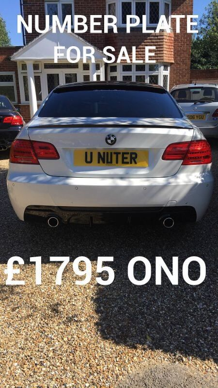 Private plate for sale