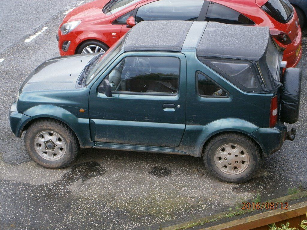 "Suzuki Jimny JLX spares or repair ""SOLD"""