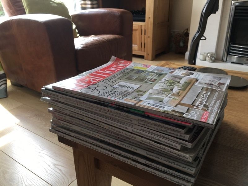 Pile of Home magazines
