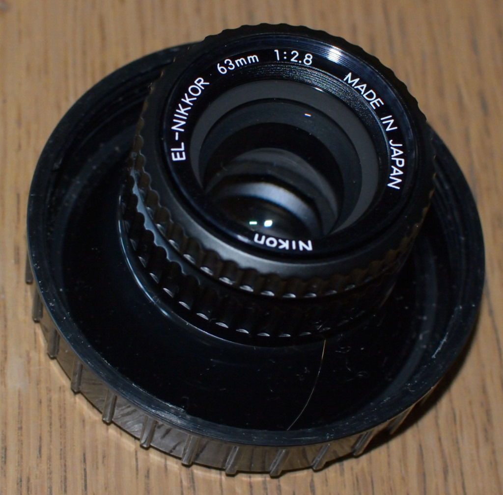 Top quality Leitz and Nikkor enlarging lenses in mint condition
