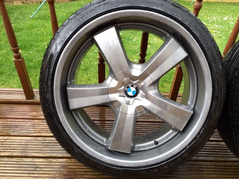 "BMW X5 22"" Alloys just been Freshly Powder Coated"