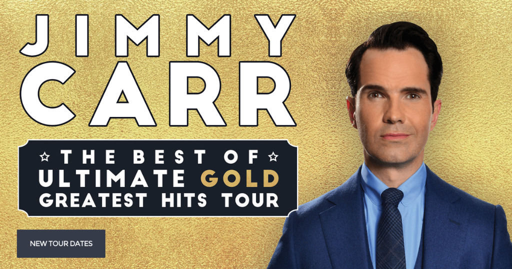 Jimmy Carr tickets , Eden Court, Inverness, 21st August, 4 tickets available