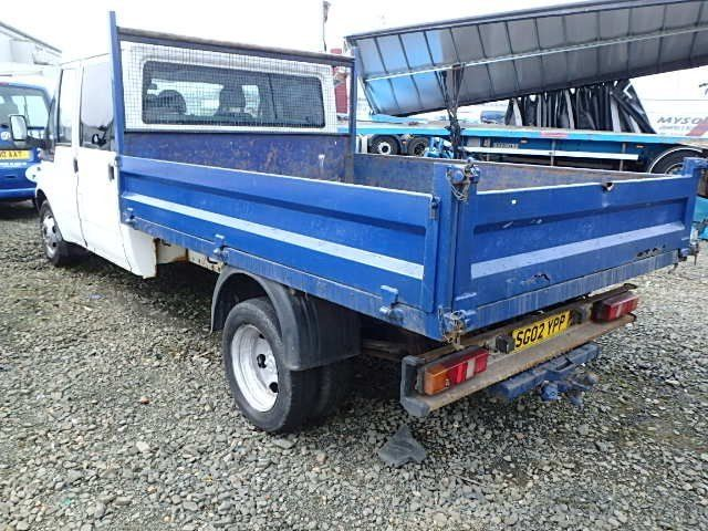 dropside double cab tipper