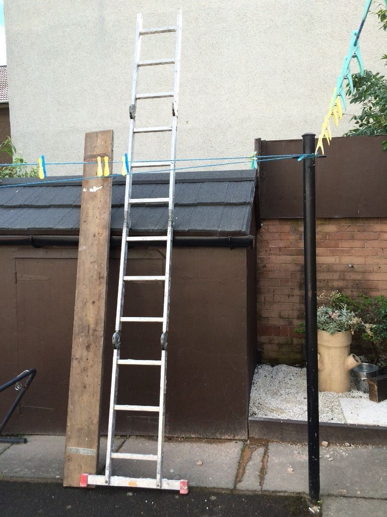 Multipurpose 12 in 1 ladder