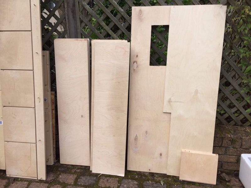 Plywood must be collected today/tomorrow