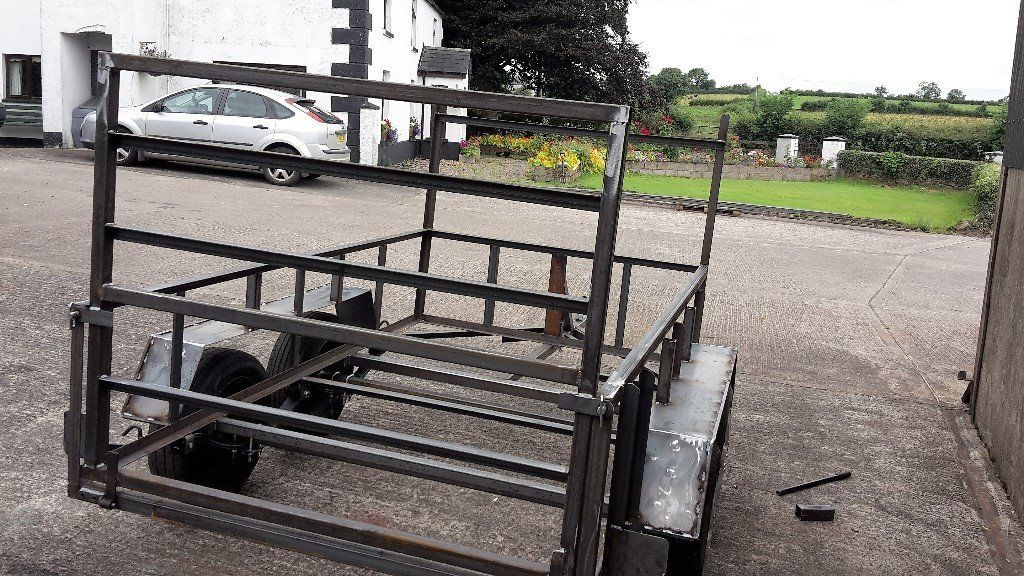 8FT 6INS X4FT 6INS TWIN AXLE TRAILER FRAMES