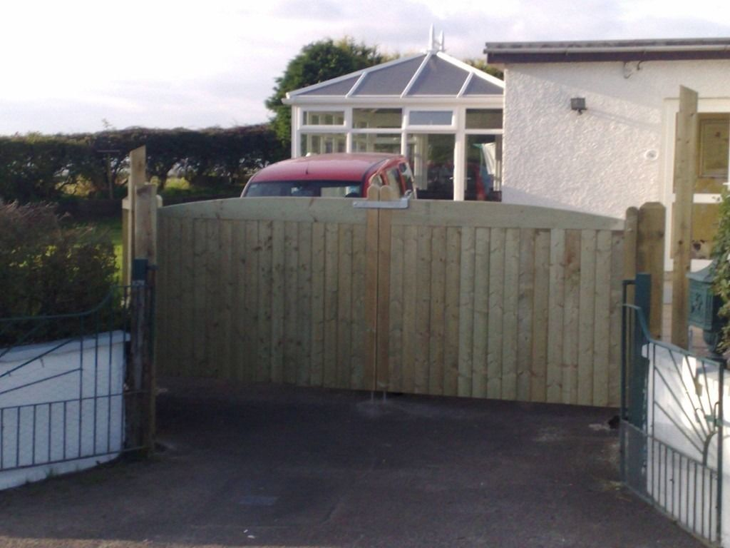 Solid Sheeted gates-Made to order