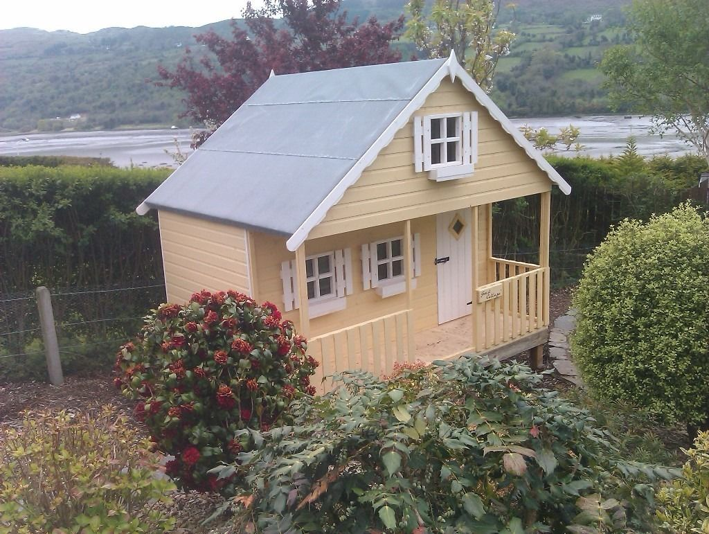 10ft x 8ft Laybird playhouse with upstairs