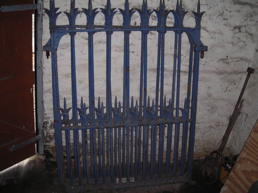 Architectural Cast Iron Gates
