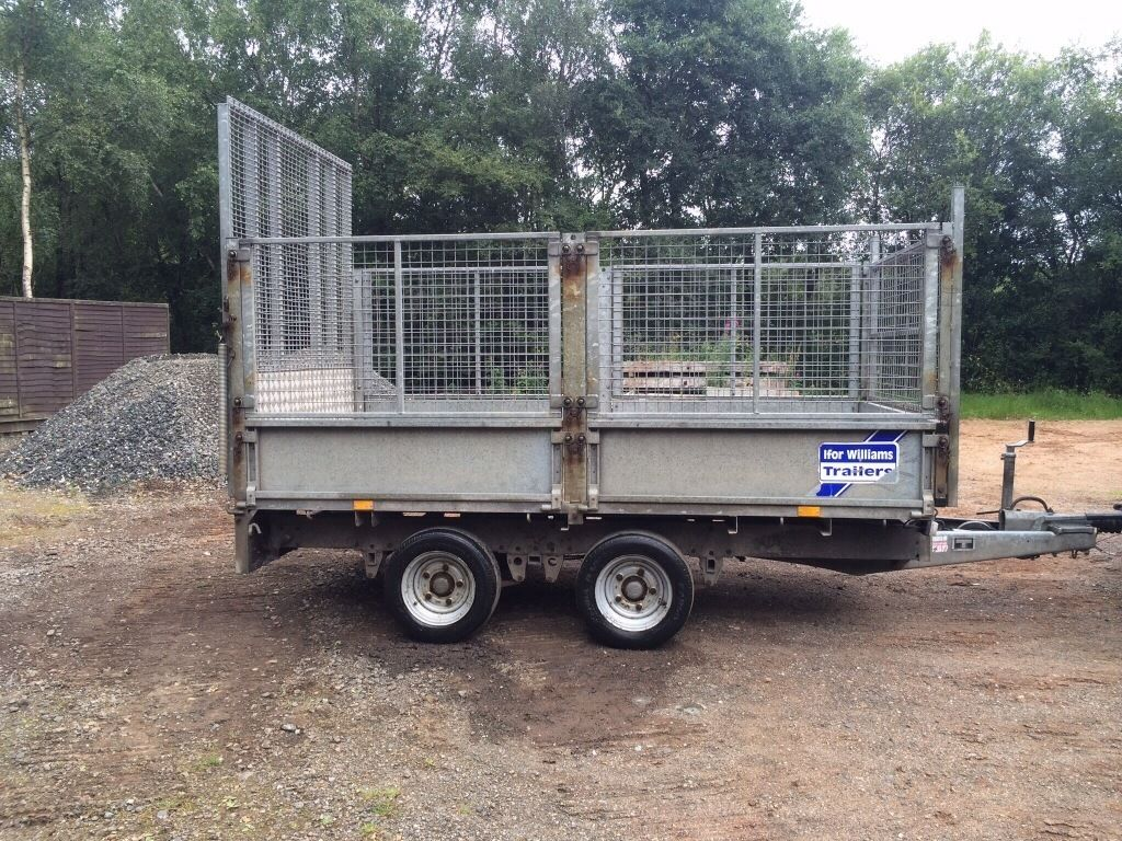 "10FT X 5FT 6"" IFOR WILLIAMS BUILDERS TRAILER(NUGENT,HUDSON,IVOR,SELF BUILD,JOINER,PLUMBER,MCM)"