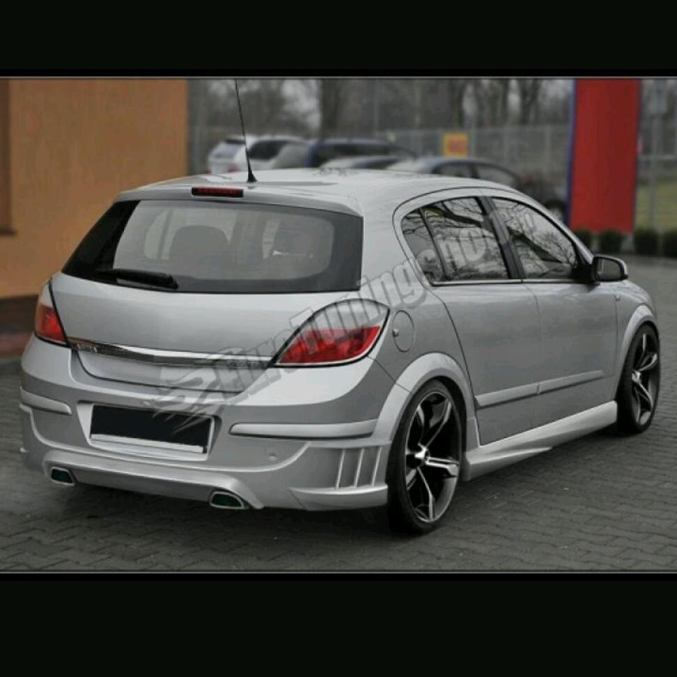 Set of spoilers astra h 5 door
