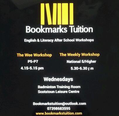 English Tuition Workshops (Secondary and Primary)
