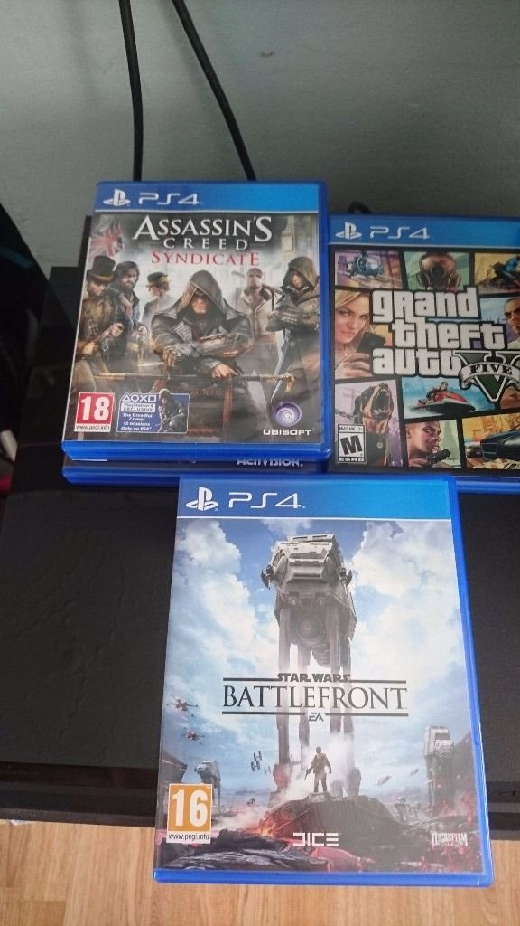 PlayStation 4 with 5 Great Games -Will do best offer-