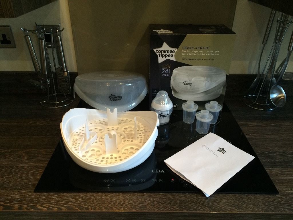 Tommee Tippee Microwave Steriliser good condition in box