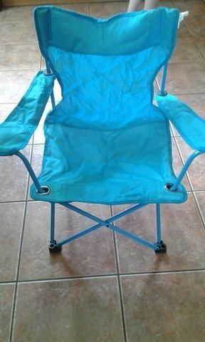 Junior foldaway camping chair approx 3-8 year