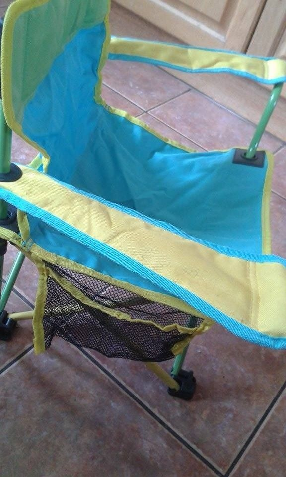 Toddler fold away camping chair age approx 18m-4y