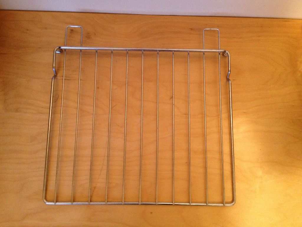 Pair of oven racks for caravan motorhome oven.one fixed one universal.