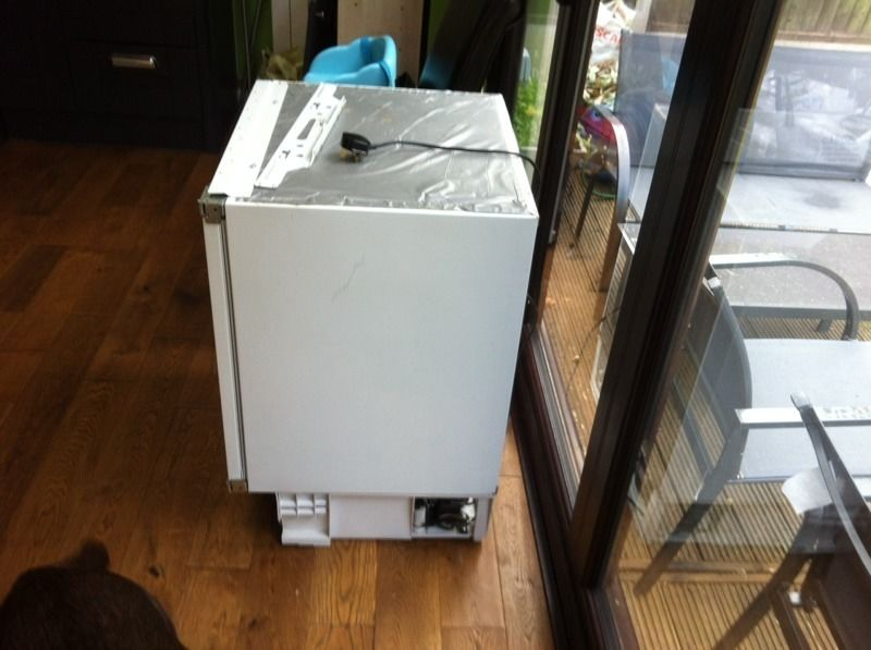 Cable built in fridge