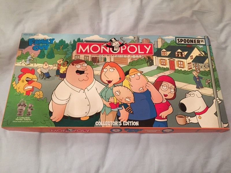 Family guy monopoly - collectors edition