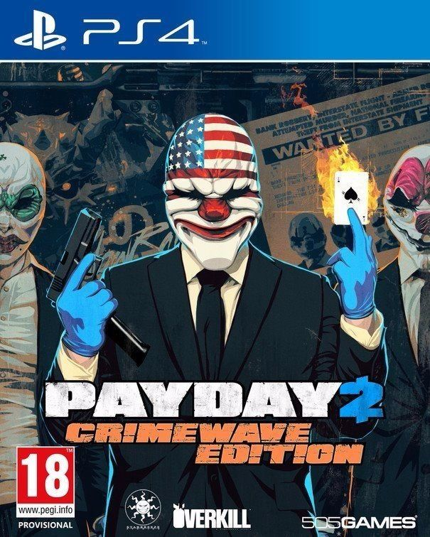 PAY DAY 2 CRIMEWAVE EDITION / ON THE PS4 CONSOLE / FOR SALE OR SWAPS