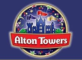 Alton Towers ticket valid until 30/12/2016