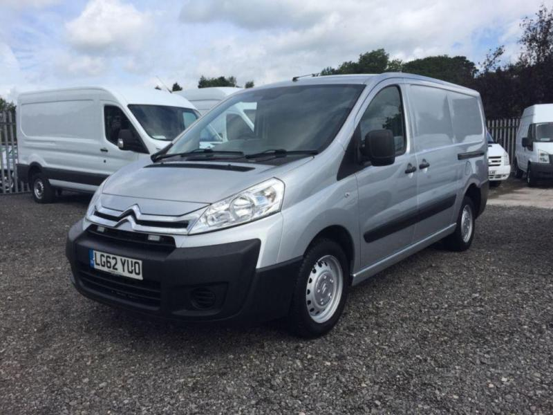 2012 62 CITROEN DISPATCH 2.0 1200 L2H1 ENTERPRISE HDI 1D 126 BHP DIESEL LWB VAN