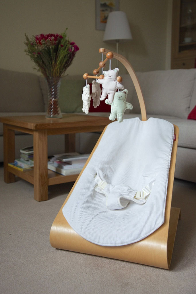 Koto Wooden Laminated Bouncer - Excellent Condition