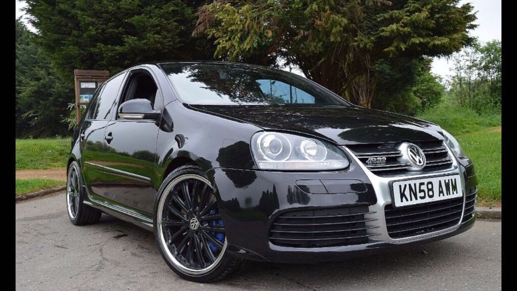 2008 VOLKSWAGEN GOLF 3.2 R32 72000 MILES 4 MOTION BLACK