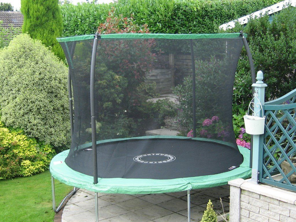 SportsPower 10ft Quad Lok Trampoline with Easy Store