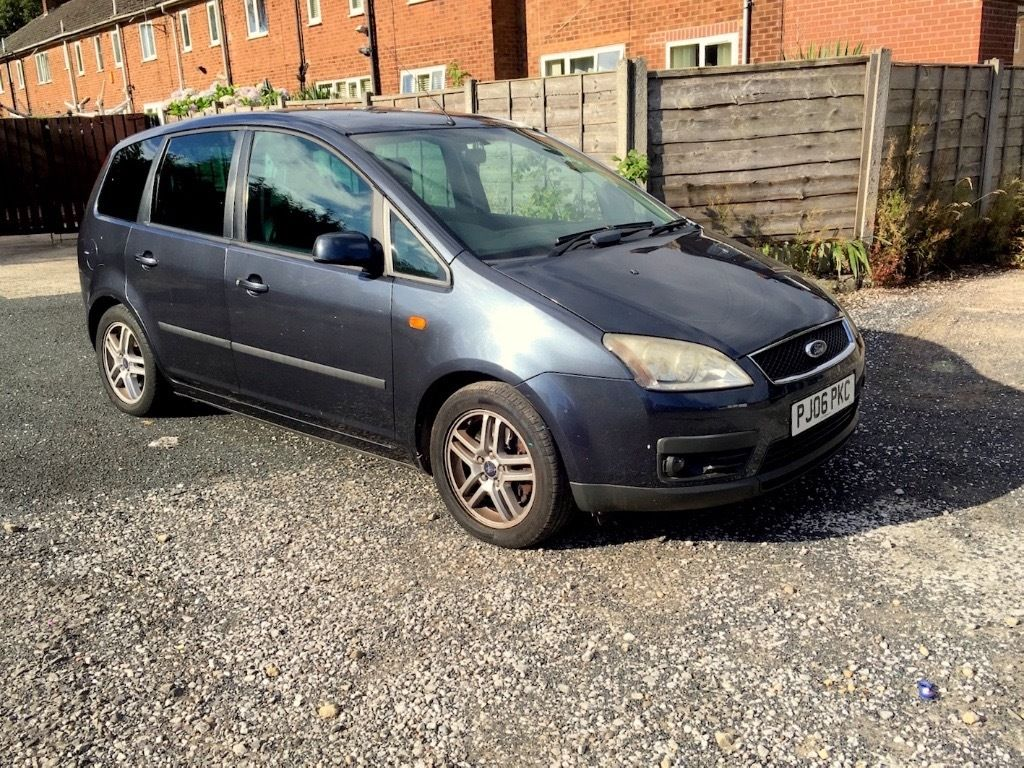 2006 Focus C-MAX Zetec Top spec , full leather , heated seats (( SWAP ))