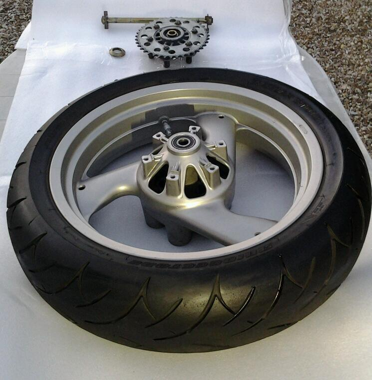 Ducati Monster front and rear complete wheels