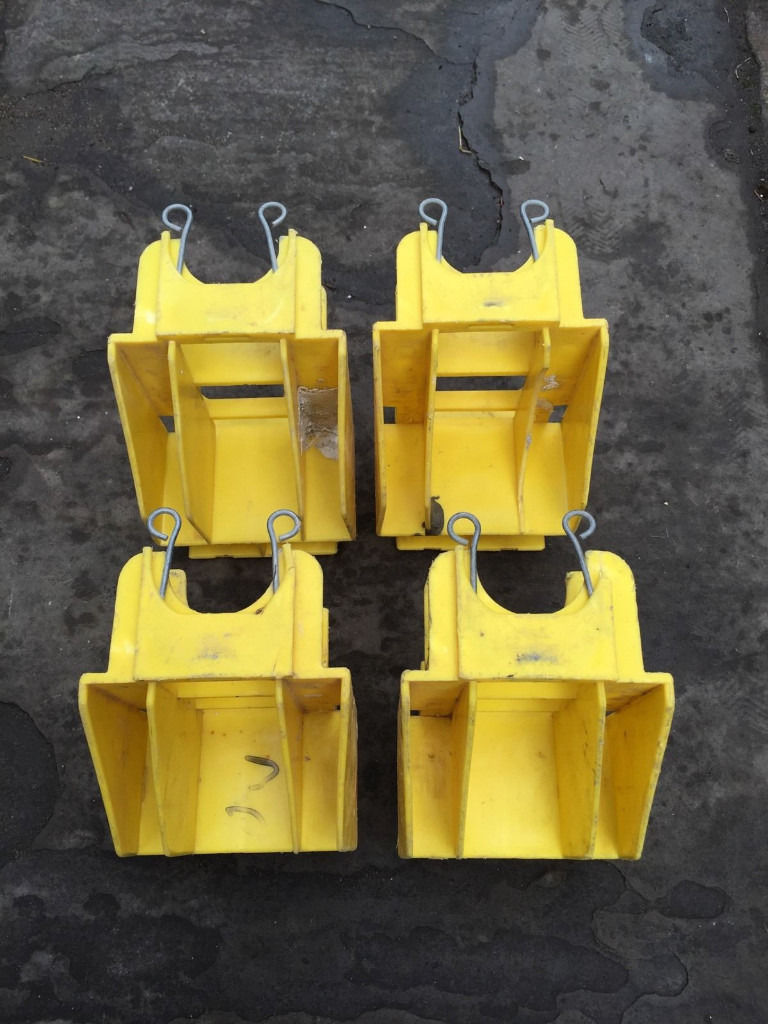 Boss Youngman toeboard clips holders for scaffold tower