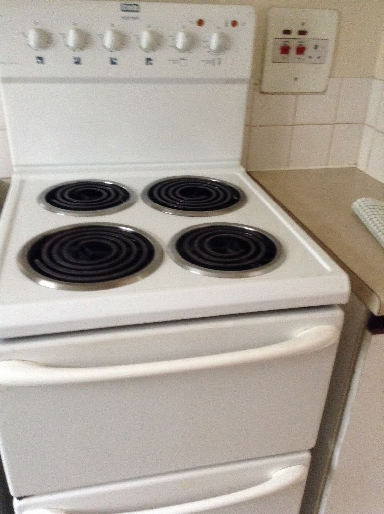 Various pieces of furniture + cooker- open to individual offers for each item