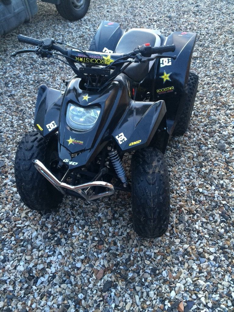 quad bike Apache