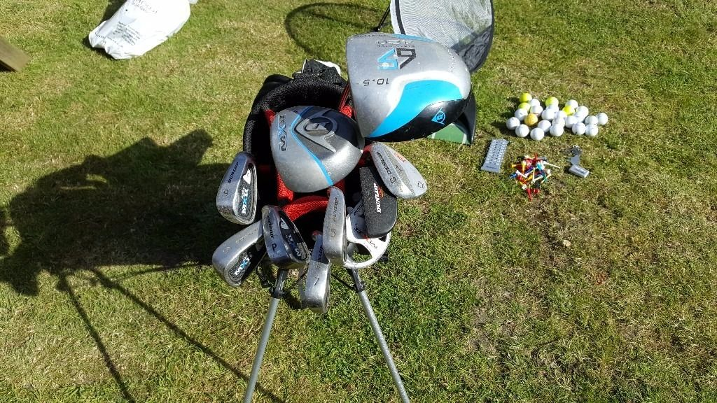 Golf Kit, Clubs, Bag, Trolley, Balls & Accessories, great full starter set