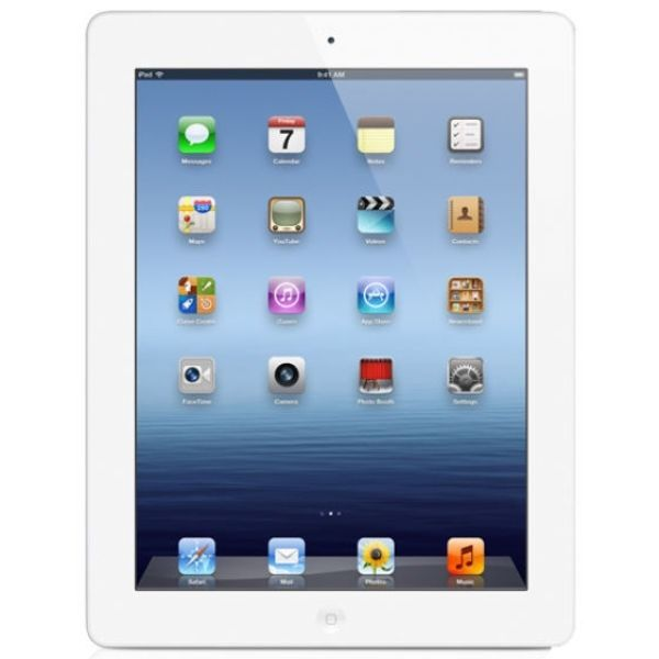 """Apple iPad 4Th Generation Retina Display 9.7"""" WiFi Cellular 16GB Tablet in White - BRAND NEW SEALED"""