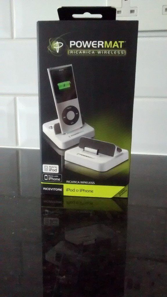 Apple iPod & iPhone Powermat - wireless (never used)