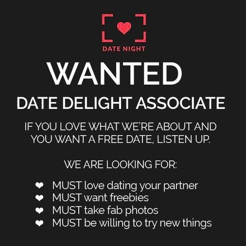 WANTED NATIONWIDE - Date Delight Associates