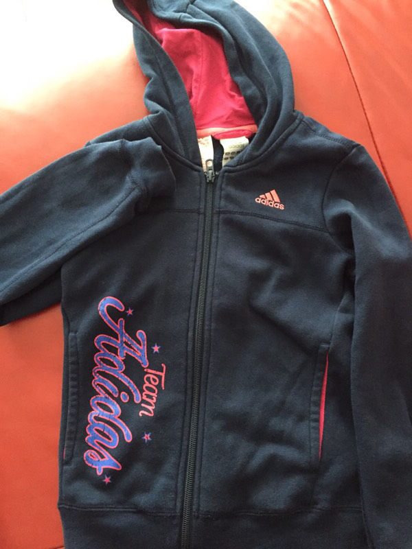 Girls addidas hoody