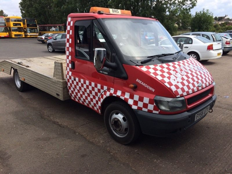 55 plate ford transit recovery swap or px nice hiab recovery lorry