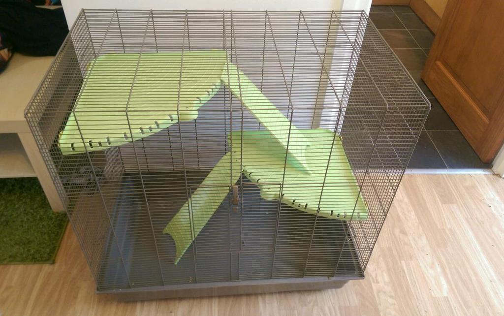 Large pet cage.