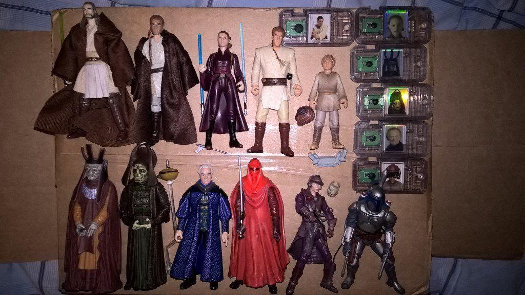 "Star Wars 3:75"" Figures Lot (The Phantom Menace and Attack of the Clones)"