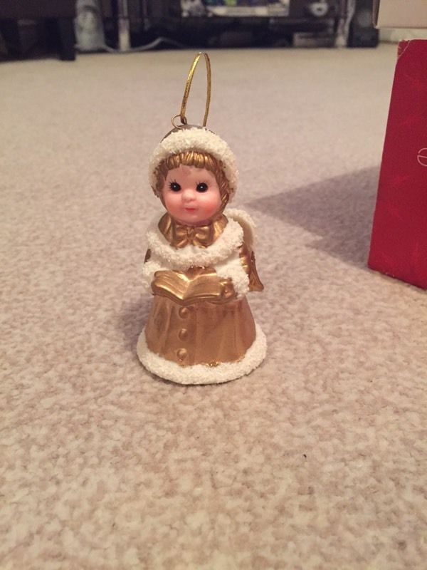 Angel bell Christmas decoration