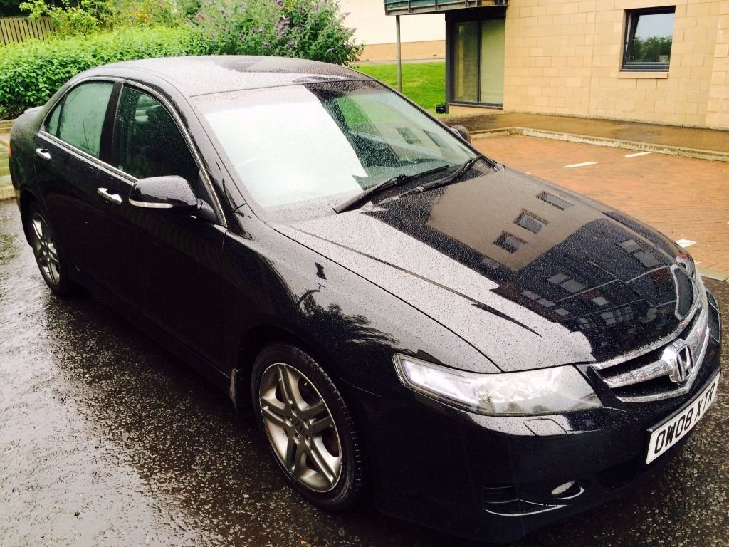 2008 Honda Accord Sport I-Ctdi Black ,Long MOT,Full Service History